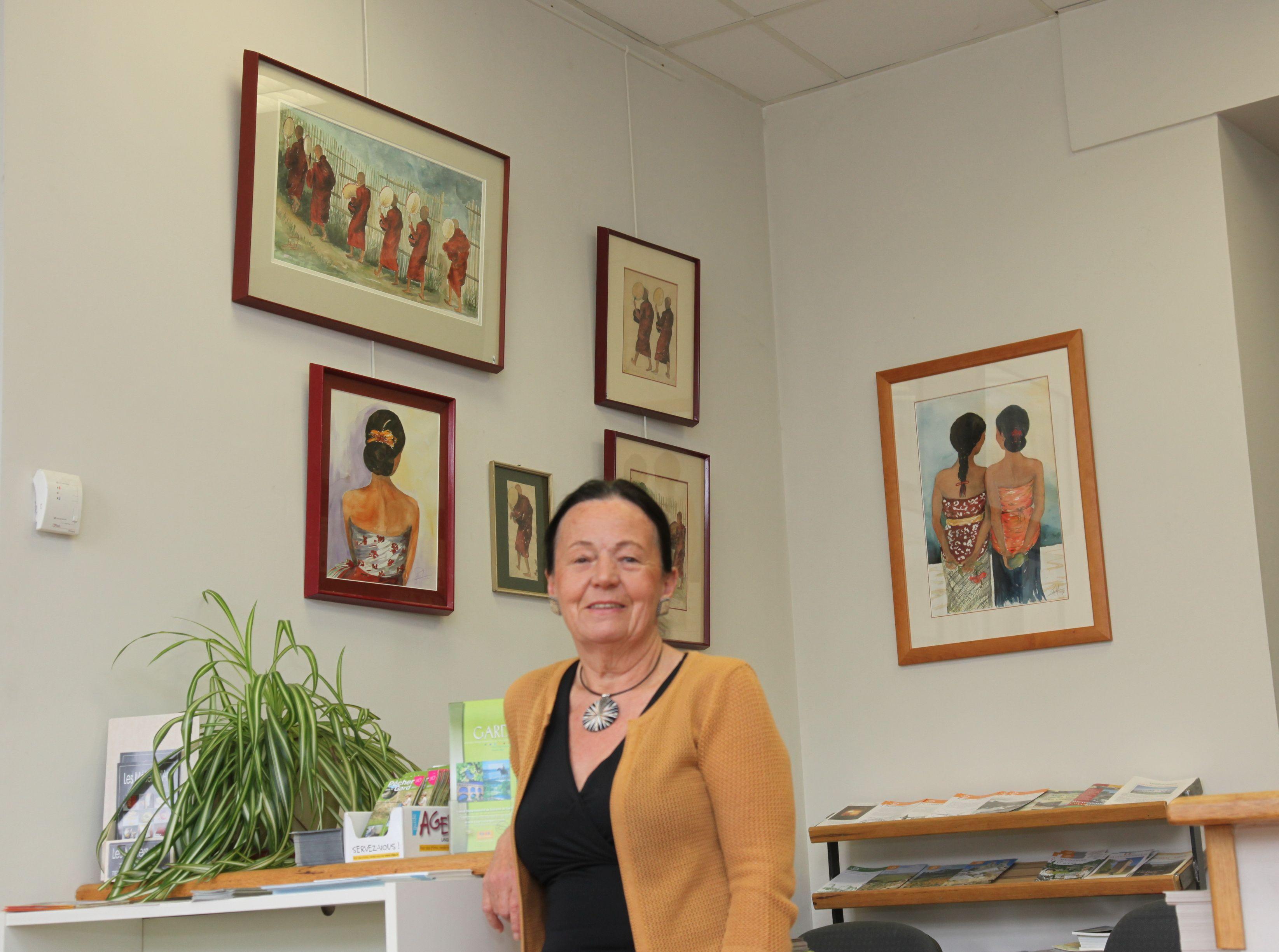 Chantal perdrizet expose l office de tourisme - Saint jean du gard office de tourisme ...