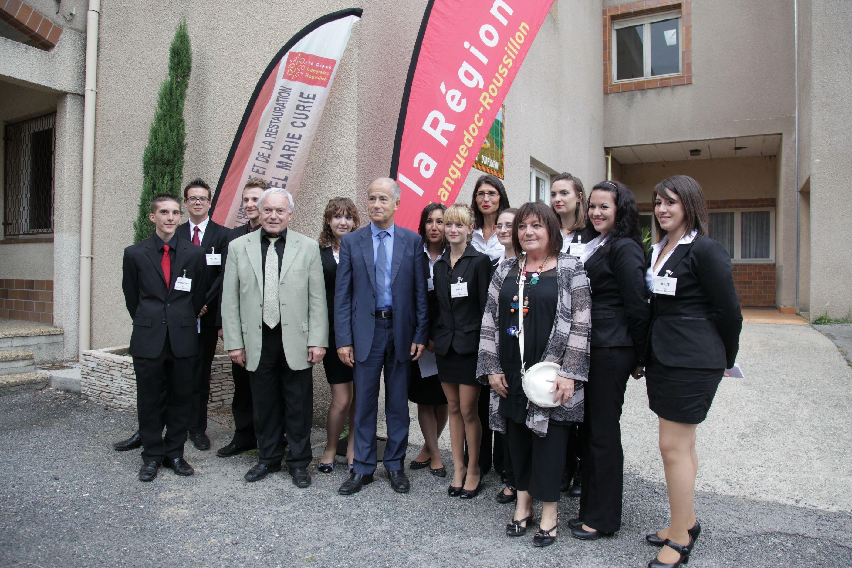 Le pr sident du conseil r gional visite le lep - Office de tourisme saint jean du gard ...